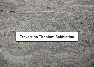 Travertino Titanium (sabbiatino)