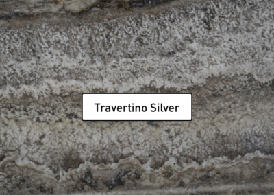 Travertino Silver